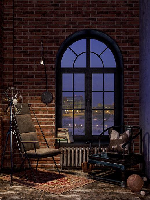 Апартаменты в клубной резиденции Loft River